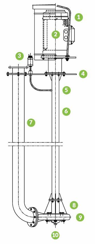 lietepumppu rakenne
